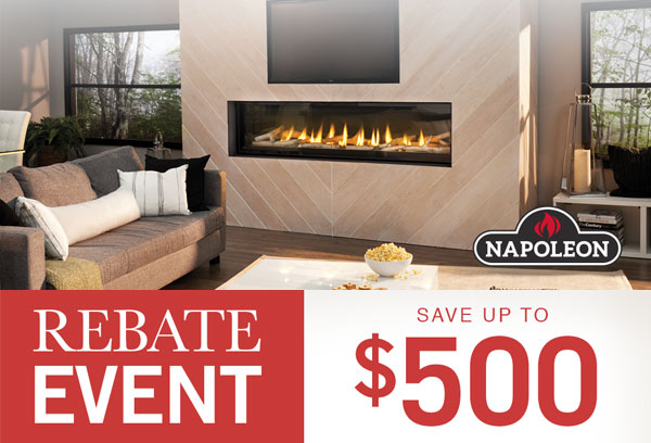 Rebate Event - Save up to $500