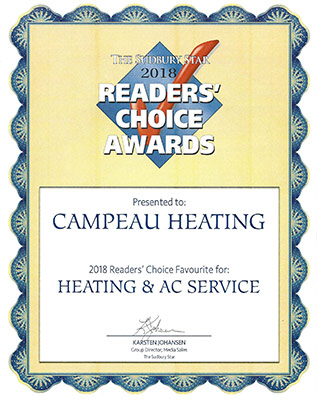 Readers Choice 2018 - Heating / AC