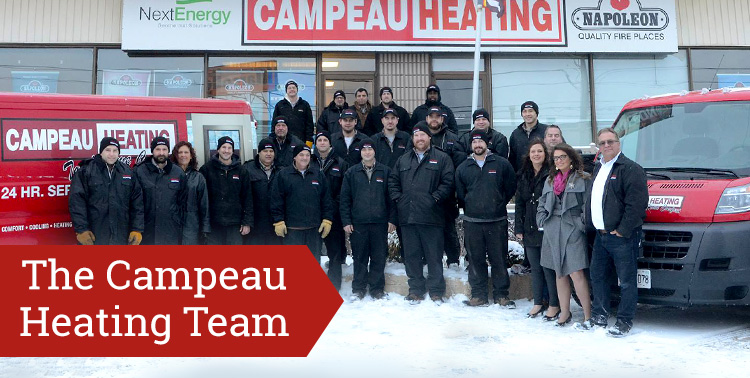 The Campeau Heating Team
