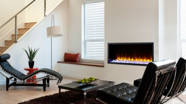 "78"" SCION CLEAN FACE LINEAR ELECTRIC FIREPLACE"